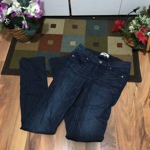 Paige Blue Jeans Skyline Straight Size 24